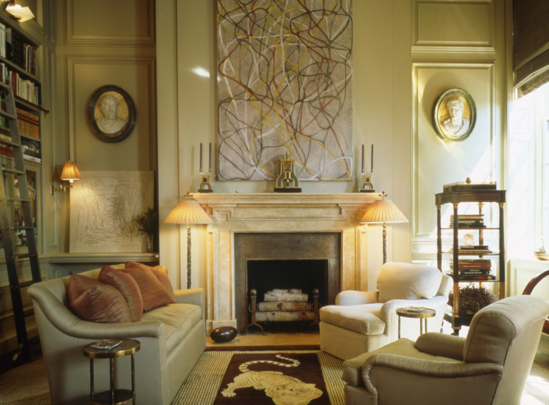 Upper east side new york apartment bunny williams - Interior design firms nyc ...